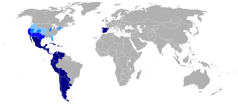 800px-Map-Hispanophone_World